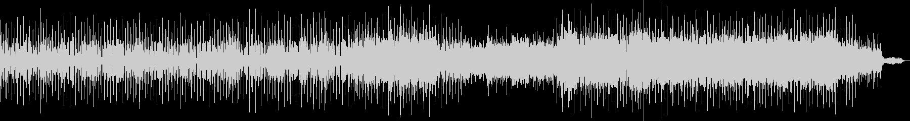 Rhythmical and peaceful BGM's unreproduced waveform