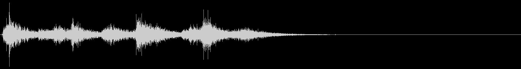 クラップ・オープニング・ジングル・CMの未再生の波形