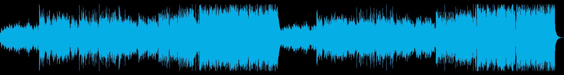 女性ボーカルMelodicDubstepの再生済みの波形
