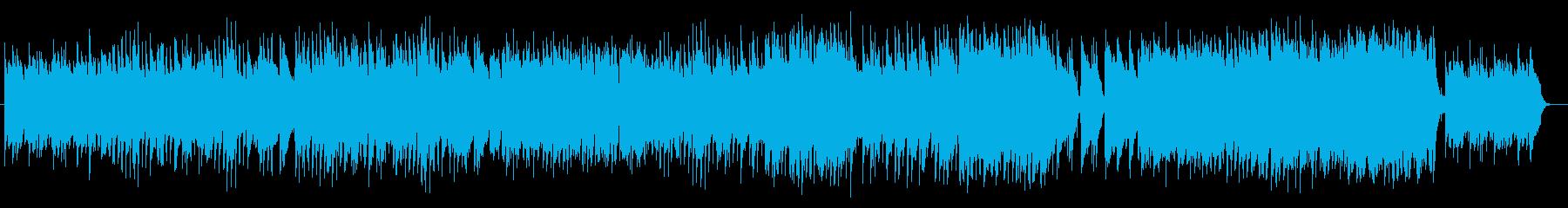 長閑で楽しいミュージックの再生済みの波形