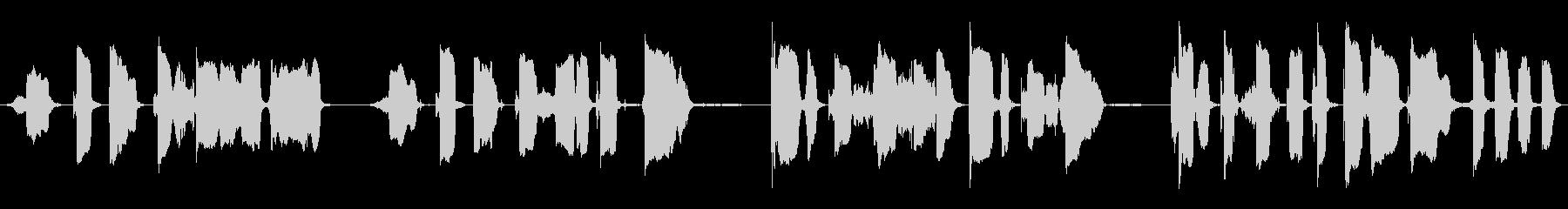 リトル・レッド・モンスター:ハンプ...の未再生の波形