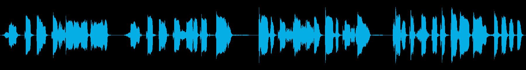 リトル・レッド・モンスター:ハンプ...の再生済みの波形