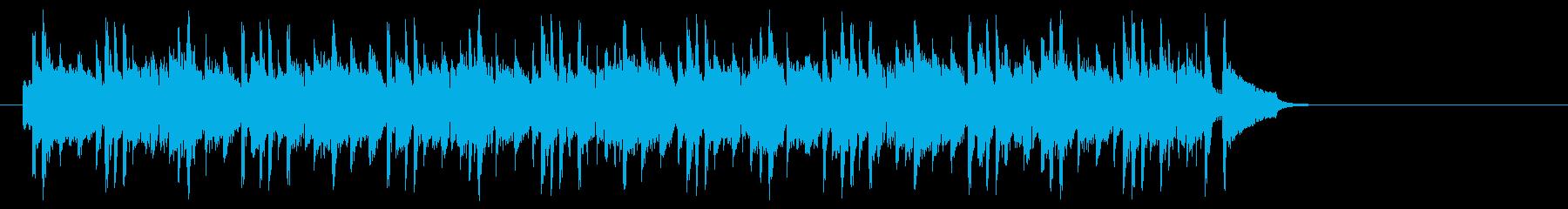 化学実験を観察するポップ(サビ~エンド)の再生済みの波形