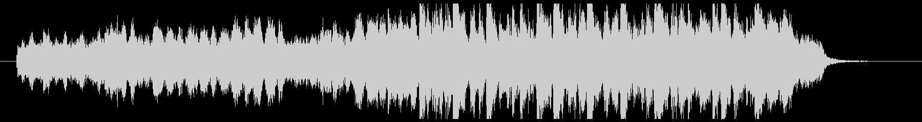 30秒CM前向き爽快ポップなオーケストラの未再生の波形