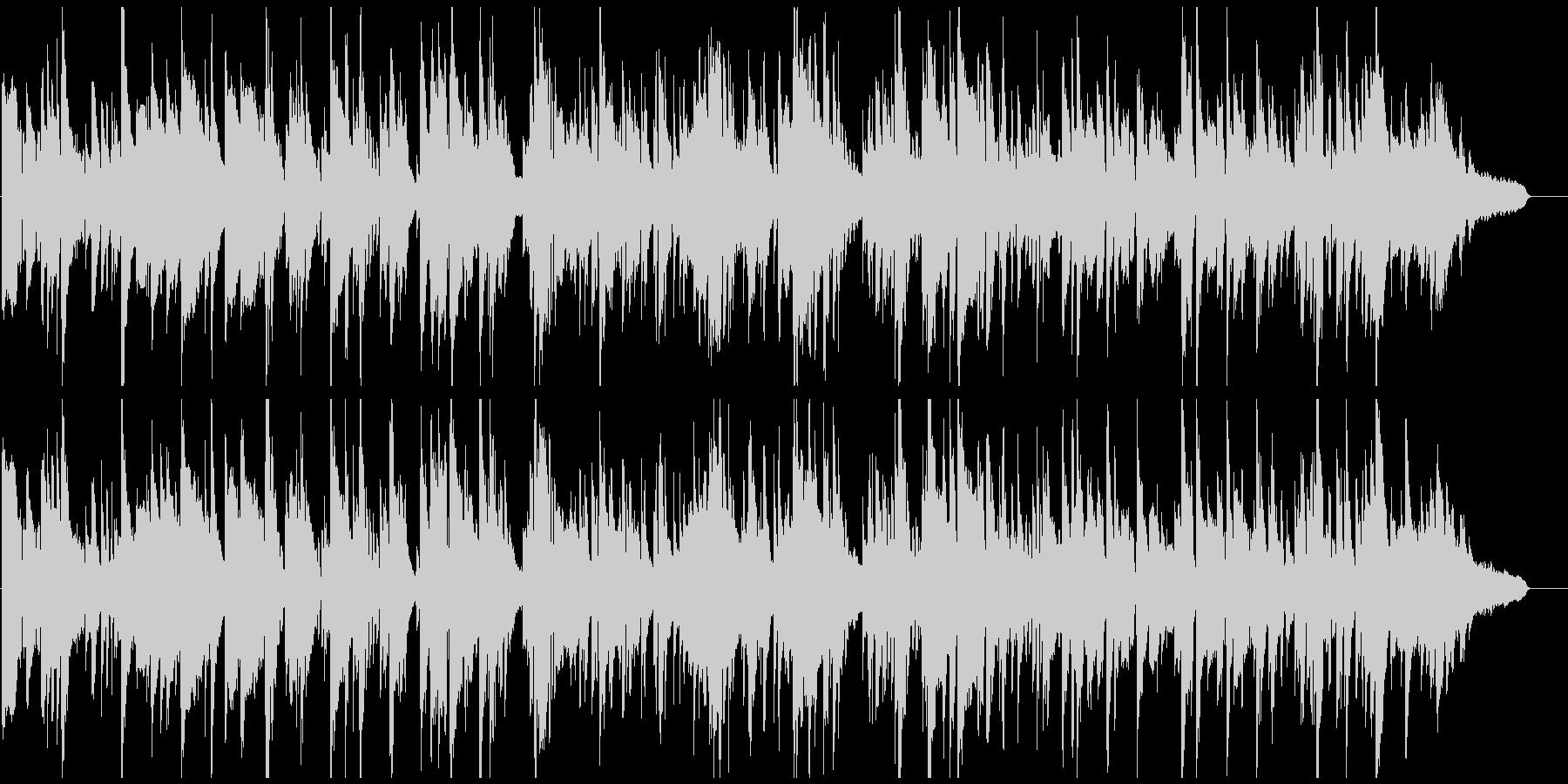 ムードある素敵なシーン向けジャズバラードの未再生の波形