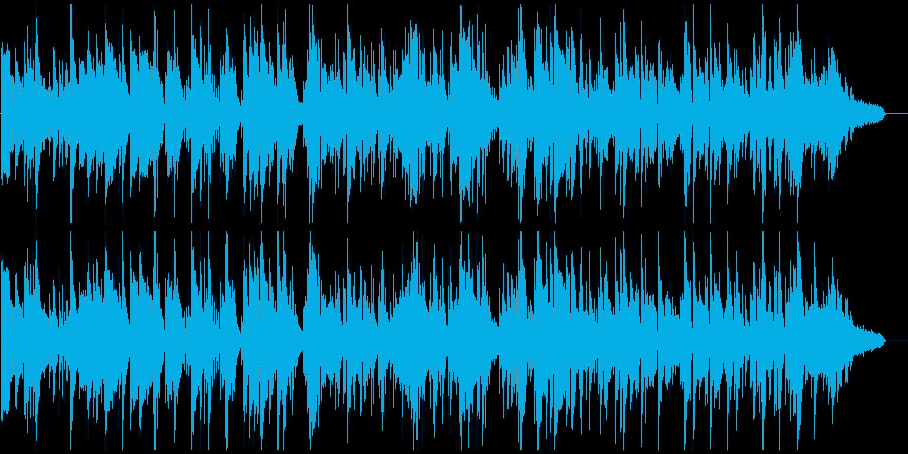 ムードある素敵なシーン向けジャズバラードの再生済みの波形