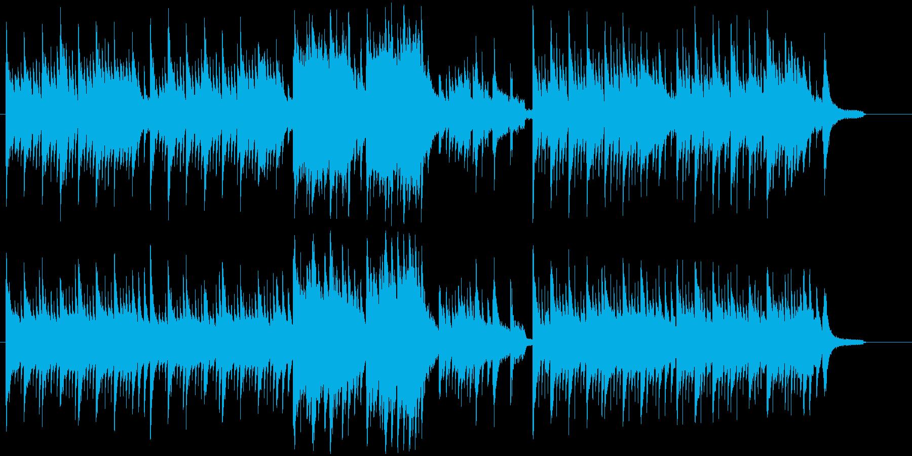 衝撃の事実 - 切なさと悲しみのピアノの再生済みの波形