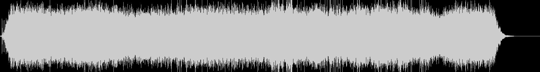 カチ、ブオーン!ドライヤーのリアルな音2の未再生の波形