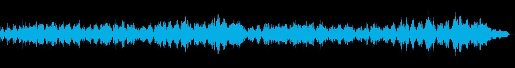 ギターと木管楽器との切ない伴奏曲の再生済みの波形