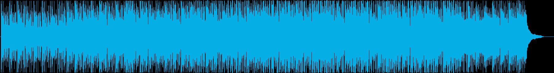 クールさの中に温かみも感じるエレクトの再生済みの波形