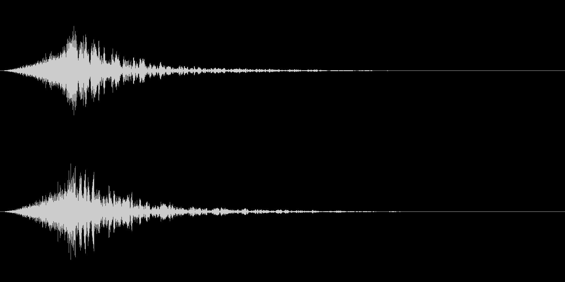 シュードーン-39-4(インパクト音)の未再生の波形