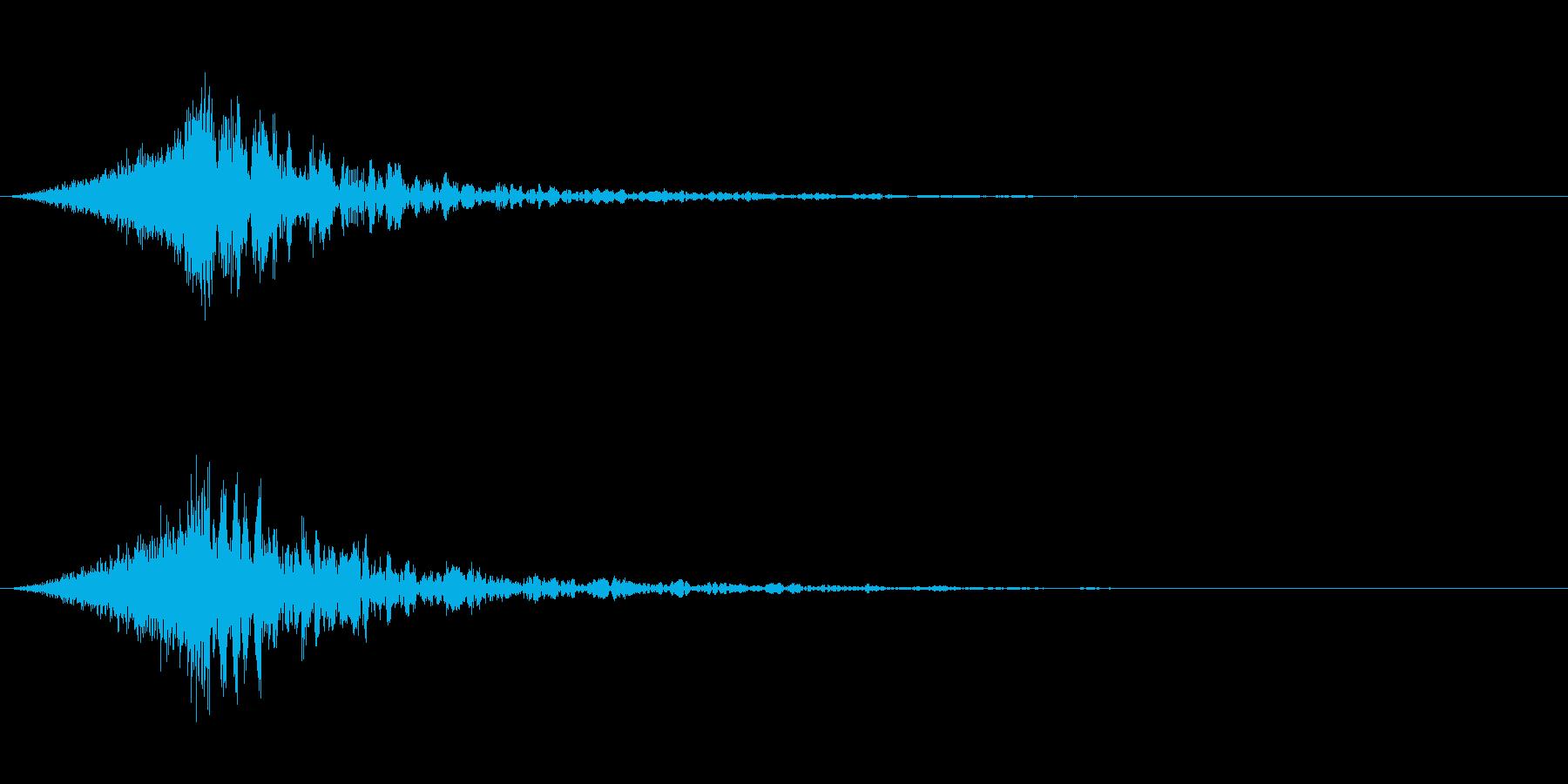 シュードーン-39-4(インパクト音)の再生済みの波形
