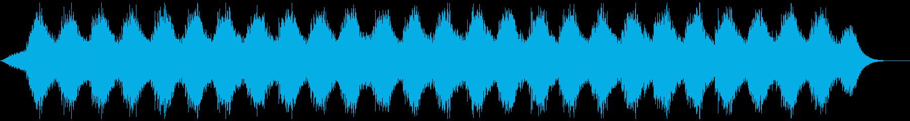 瞑想やリラックスに最適なヒーリング音楽の再生済みの波形