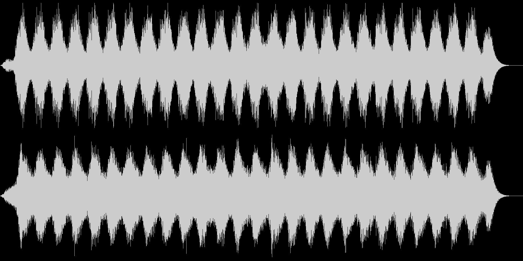瞑想やリラックスに最適なヒーリング音楽の未再生の波形
