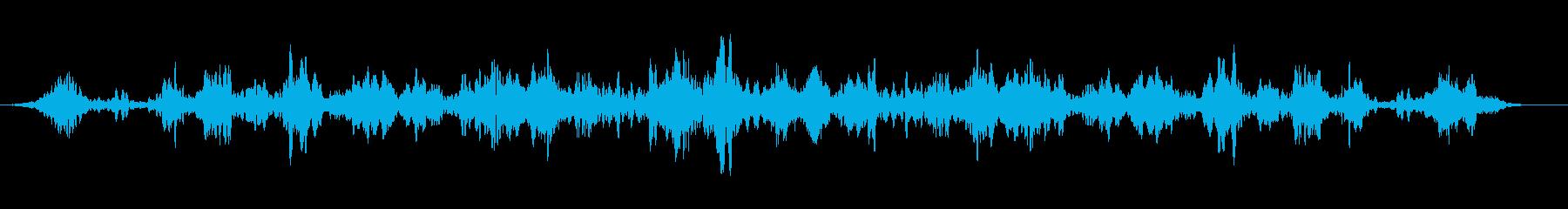 ミステリアスワールドトーンドローンの再生済みの波形