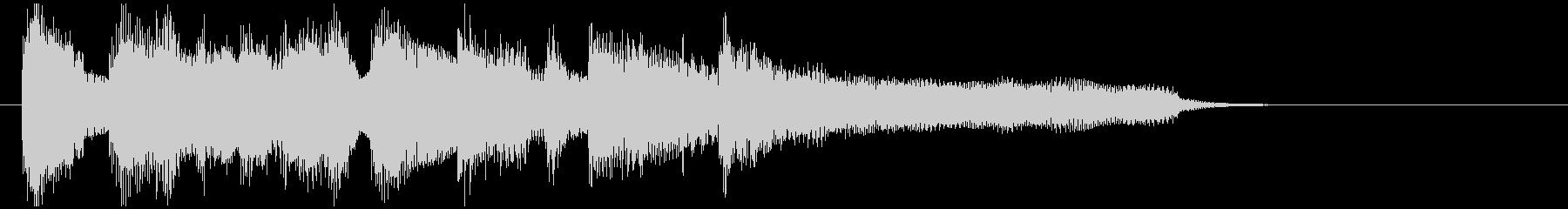 ジャズボッサのジングル、スタイリッシュの未再生の波形