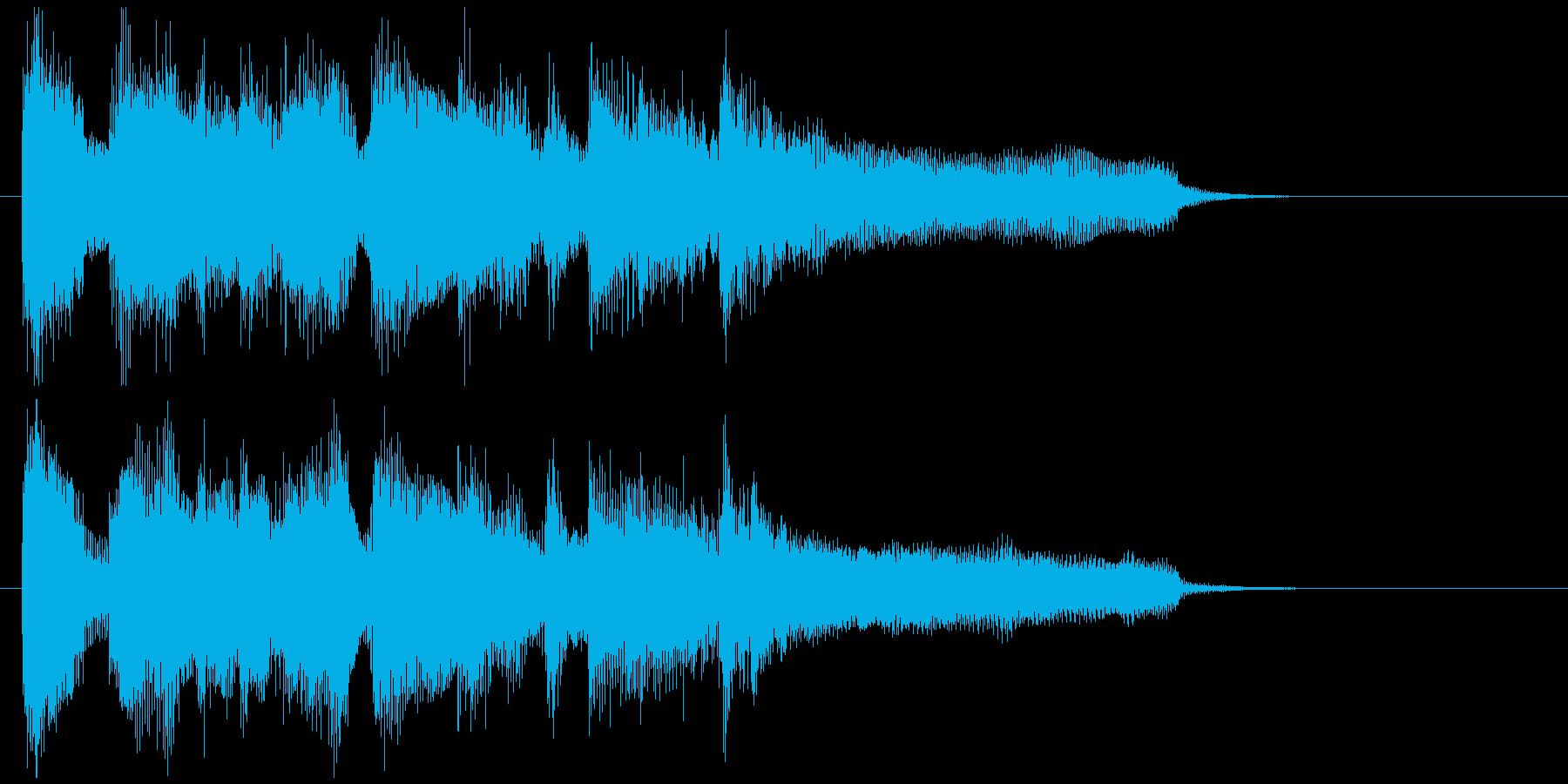 ジャズボッサのジングル、スタイリッシュの再生済みの波形