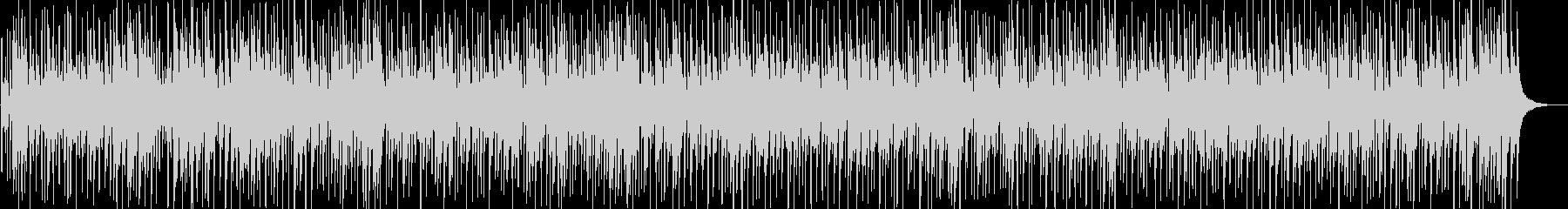 南国のイメージ、マリンバが印象的なBGMの未再生の波形