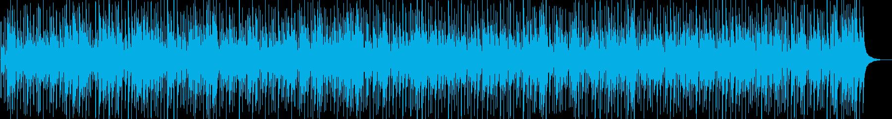 南国のイメージ、マリンバが印象的なBGMの再生済みの波形