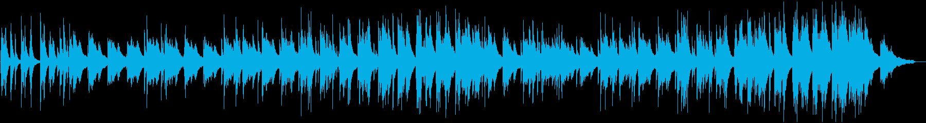 憂い・悲しげなピアノソロの再生済みの波形
