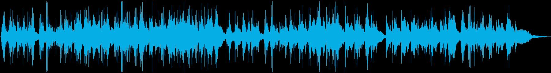 ほのぼのとした雰囲気のピアノソロBGMの再生済みの波形