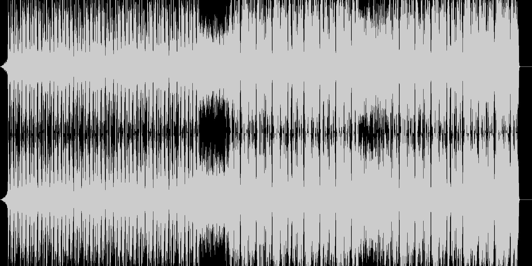 ポップ テクノ ブルース パンク ...の未再生の波形
