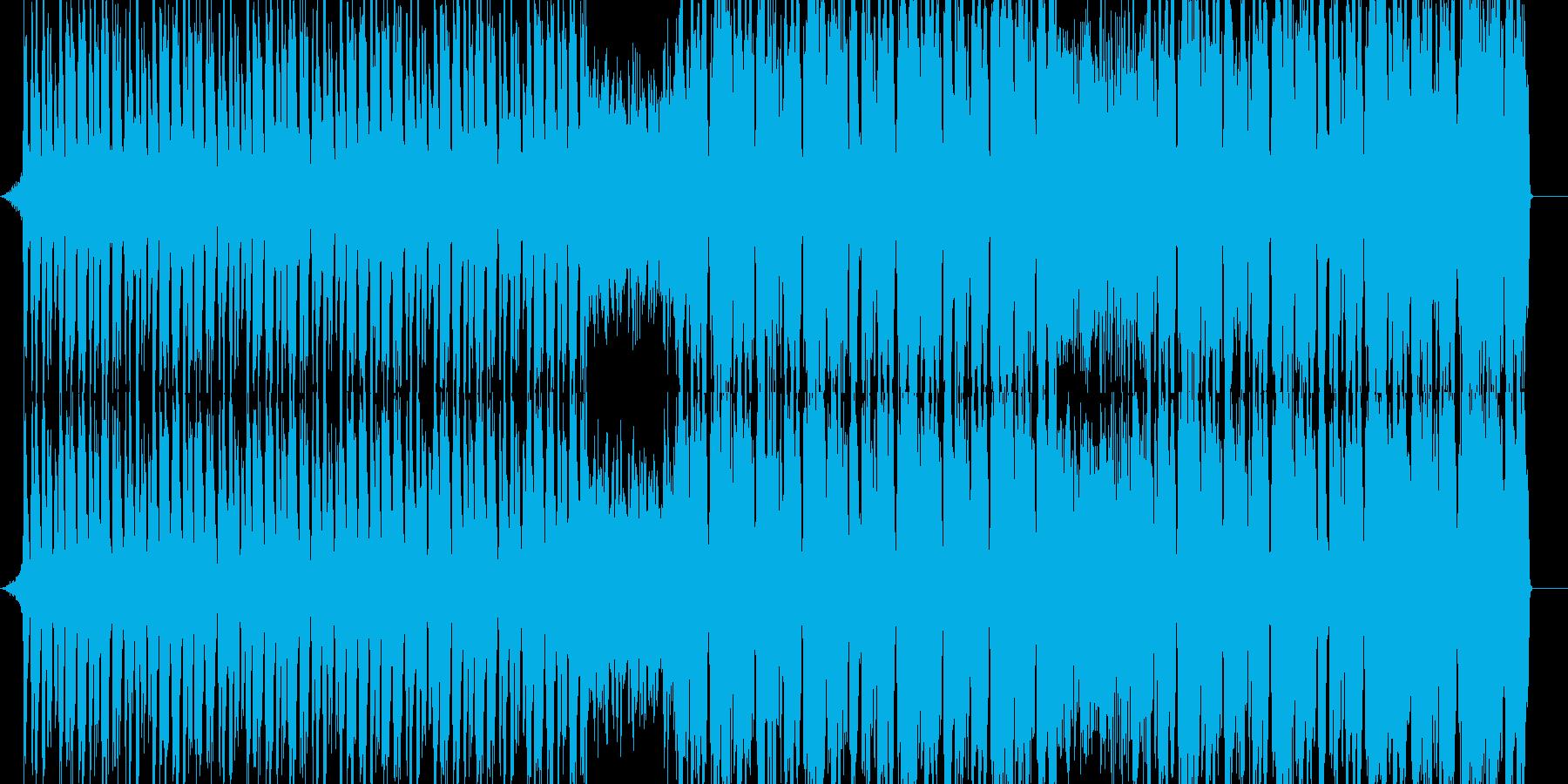 ポップ テクノ ブルース パンク ...の再生済みの波形