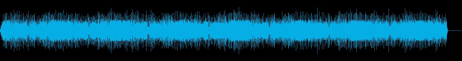 レーザー光グローハローの再生済みの波形