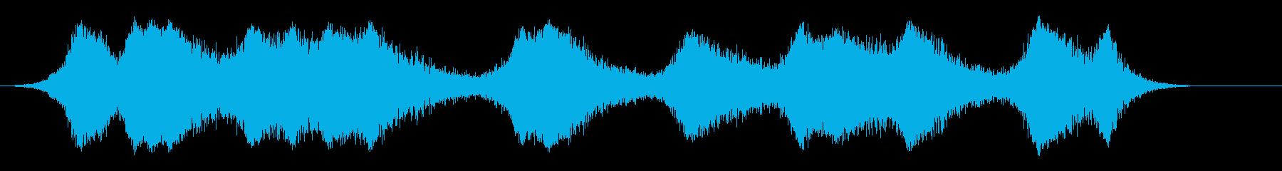 インディライツカー;トンネル内(1...の再生済みの波形