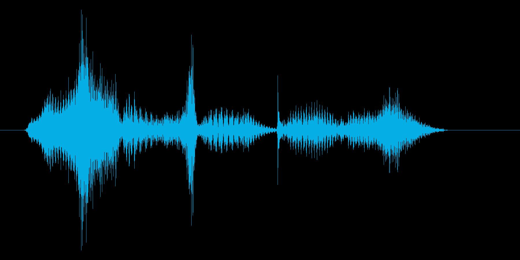 ロボット声 「ミッション成功です」の再生済みの波形