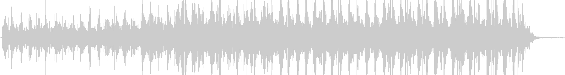 アンビエントインストゥルメンタル。...の未再生の波形