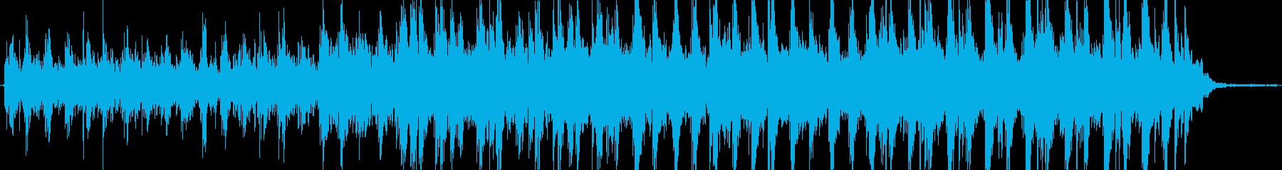 アンビエントインストゥルメンタル。...の再生済みの波形
