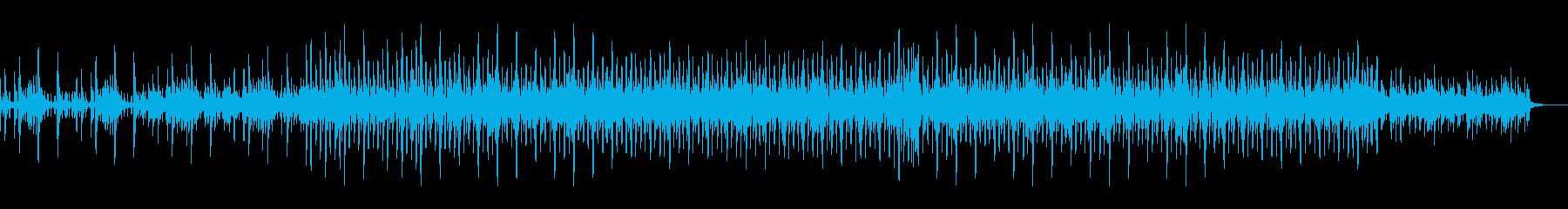 ピアノフレーズの爽やかオープニング曲の再生済みの波形