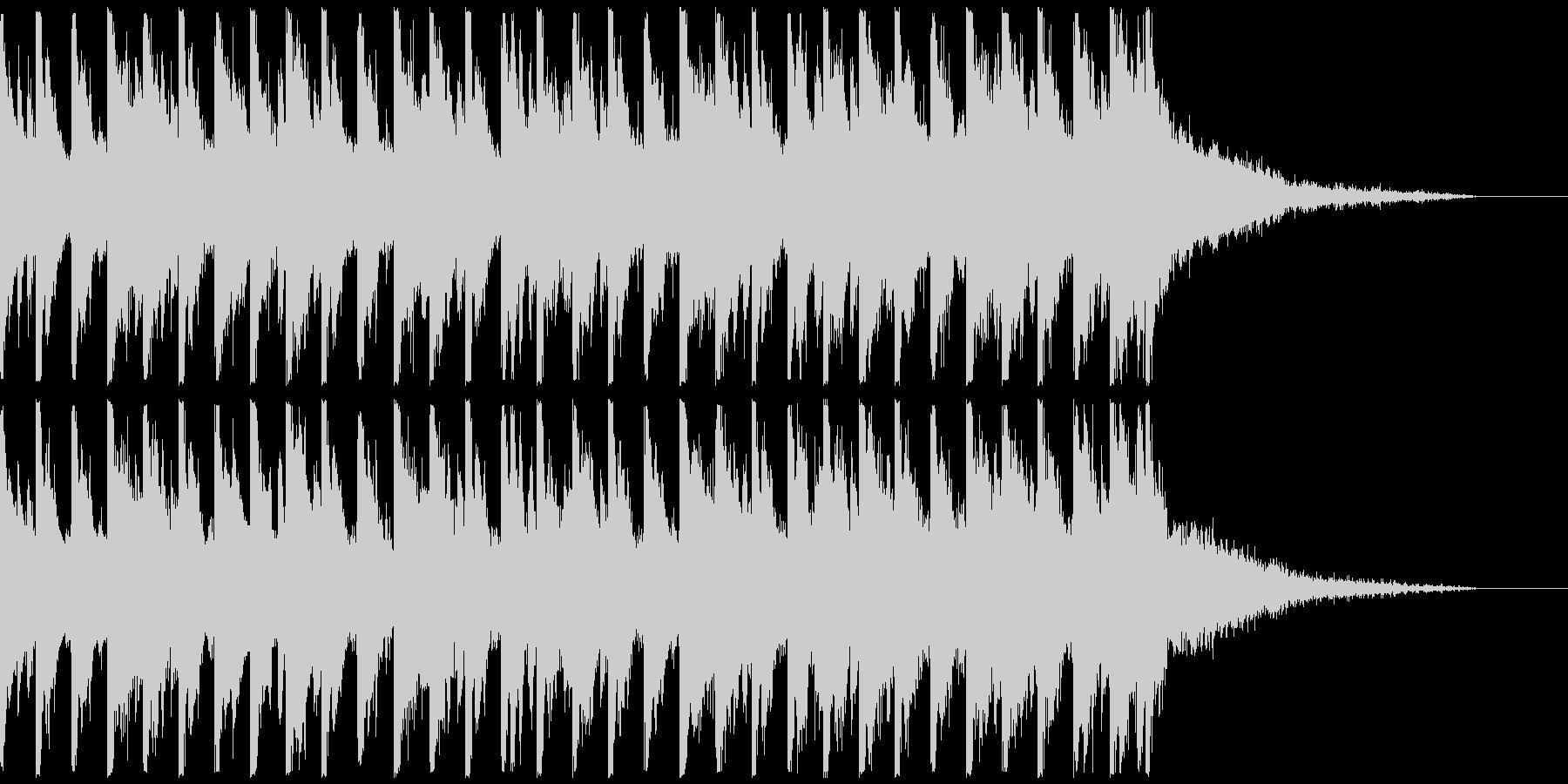 オシャ4つ打ち、スタイリッシュ雰囲気系4の未再生の波形