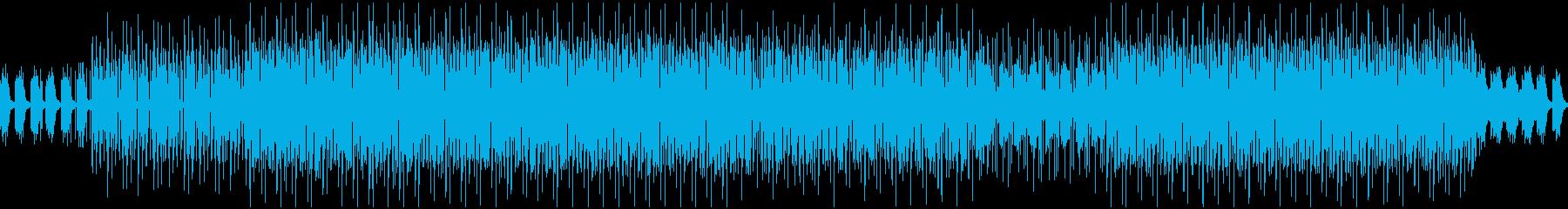 シンプルでほのぼのしたエレクトロのループの再生済みの波形