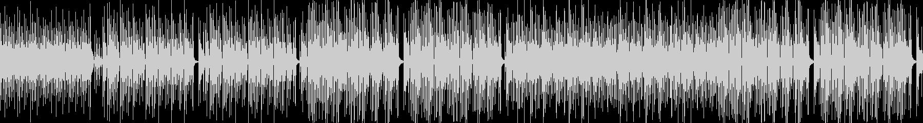 ■ループ・ボッサ・木琴・ピアノ・ゆったりの未再生の波形
