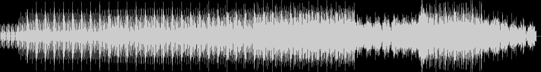 ドライヴ感のあるアシッドミニマルテクノの未再生の波形