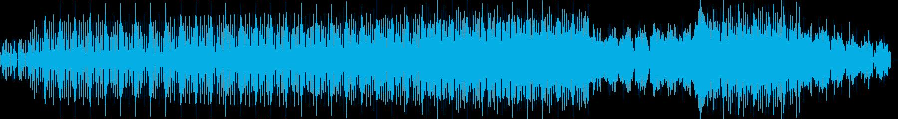 ドライヴ感のあるアシッドミニマルテクノの再生済みの波形