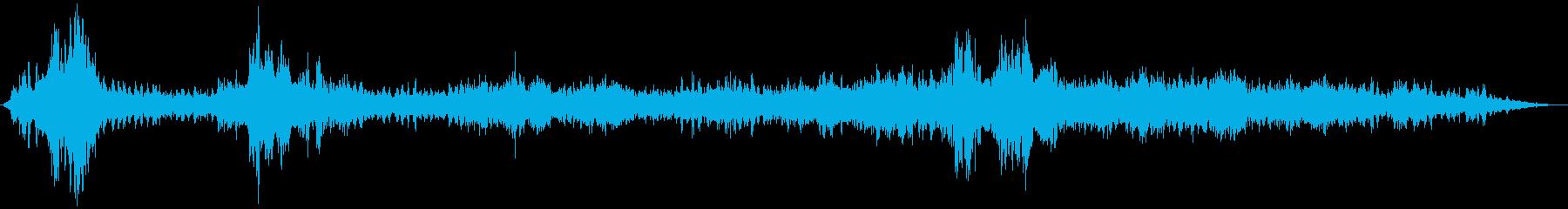 【ホラー 映画 ゲーム】汚染現場 シーンの再生済みの波形