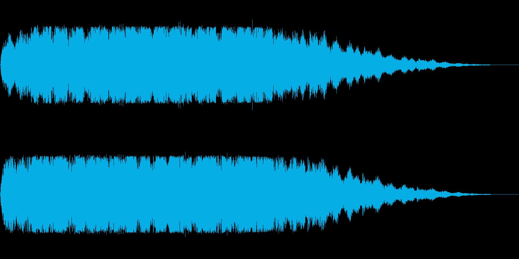 ブルブルブル(長め)の再生済みの波形