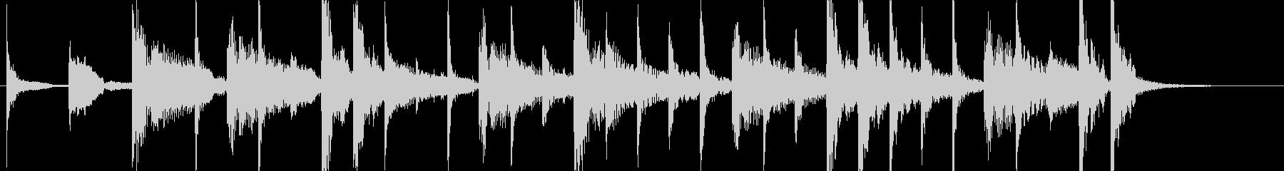 ラテンなジングル ♩=130の未再生の波形