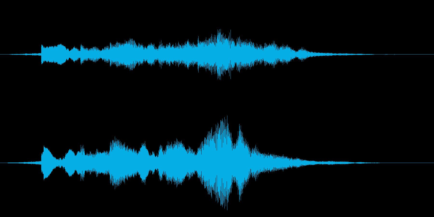 ゲームの開始音、立ち上がりの音などに良…の再生済みの波形