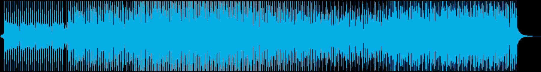 夏の日の再生済みの波形