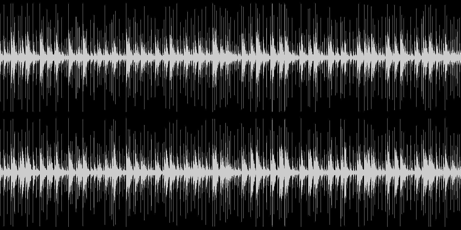 キューバパーカッションの未再生の波形