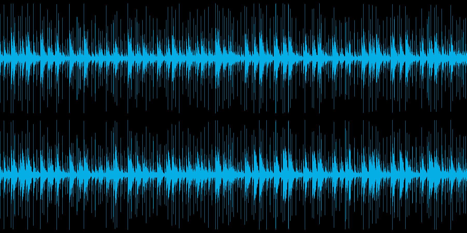 キューバパーカッションの再生済みの波形