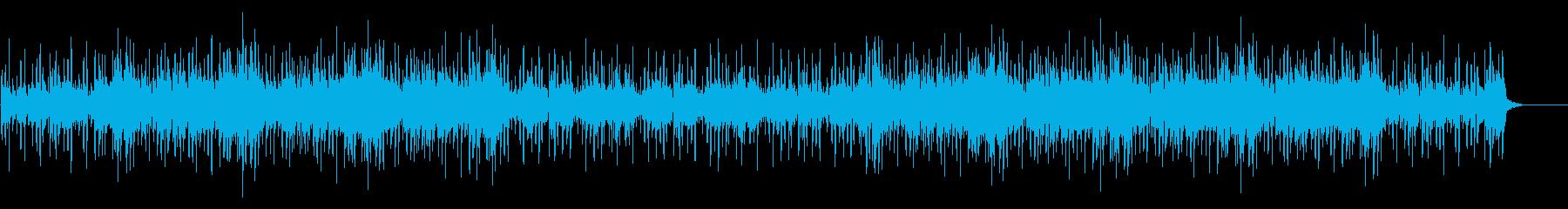 神秘的で不思議なエレクトロBGMの再生済みの波形
