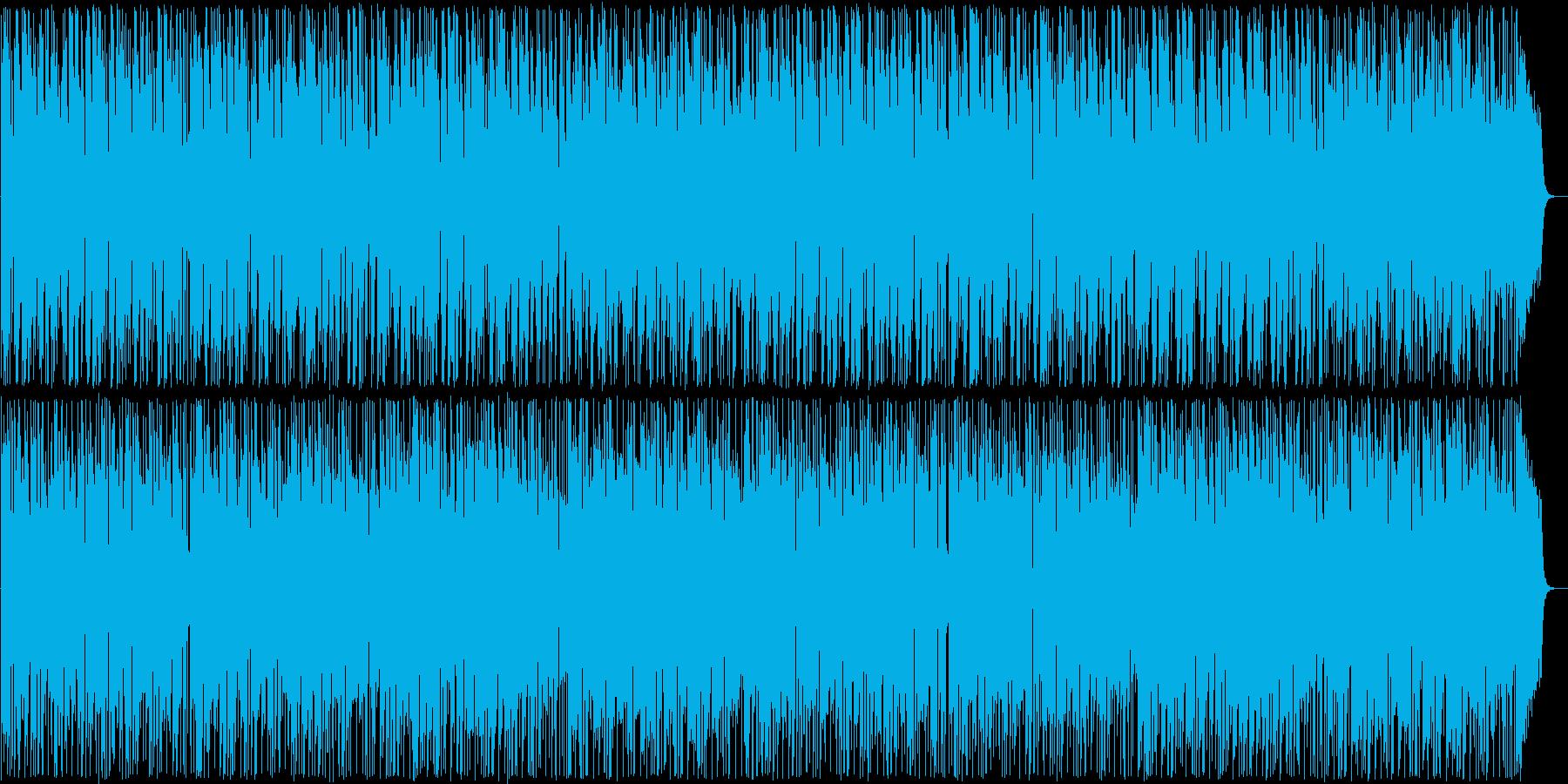 明るく温かい雰囲気のボサノバの再生済みの波形