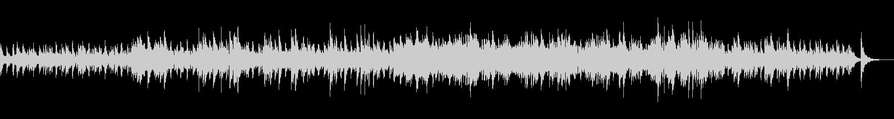 ピアノとストリングスのクラシックポップの未再生の波形