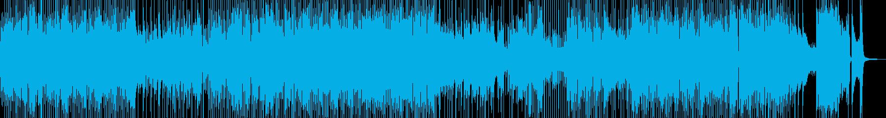 軽快・喜劇的なカントリーポップ 短尺の再生済みの波形