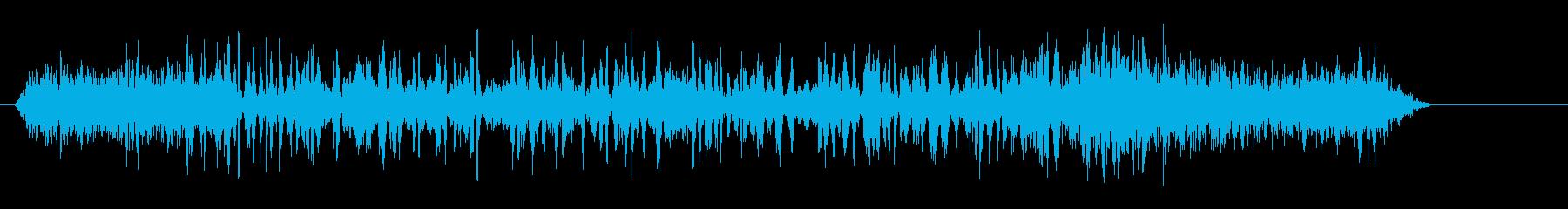 飛行機のボーイングパス2の再生済みの波形